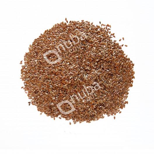 Nuba Whole Flaxseed - całe nasiona lnu - siemię lniane