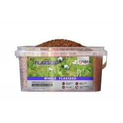 Nuba Whole Flaxseed - Całe Nasiona Lnu - Siemię Lniane 3,5kg