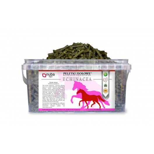 Echinacea - Zioła dla koni - Peletki Ziołowe - Nuba Equi