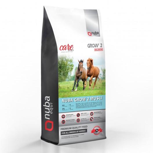 Nuba Grow2 Musli Balancer - pasza dla koni dwuletnich - worek 20kg