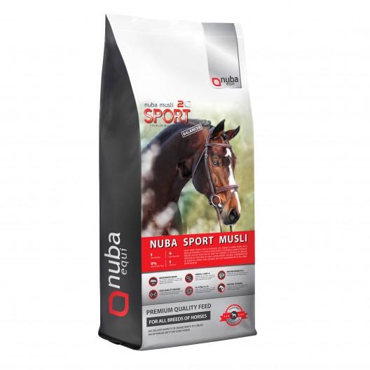 Nuba Sport Musli Balancer - wysokoenergetyczne musli dla koni