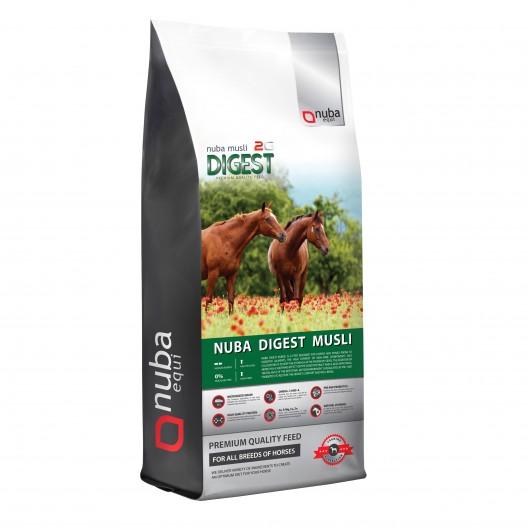 Nuba Digest Musli 2G - dla koni wrzodowych, kolkujących - worek 20kg