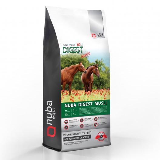 Nuba Digest Musli Balancer - dla koni wrzodowych, kolkujących - worek 20kg