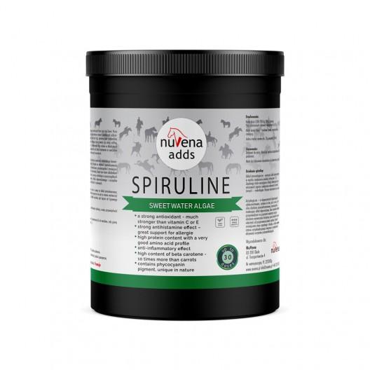 NuVena Spiruline - Spirulina Arthrospira platensis dla koni