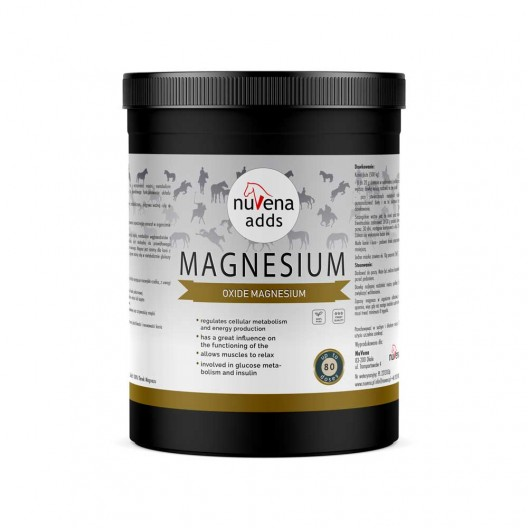 NuVena Magnesium 1200g - magnez dla koni